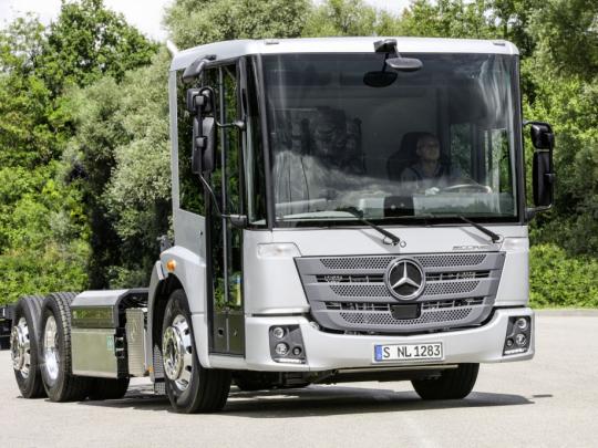 Mercedes Benz Econic NGT