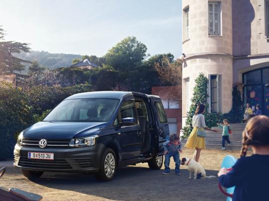 VW Caddy Ecofuel TGI CNG od r. 2015