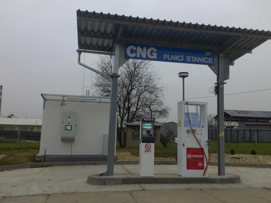 fotografie stanice CNG