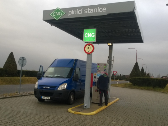 fotografie stanice CNG