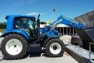Úspěšný start nového prototypu traktoru New Holland T6.180 na plyn