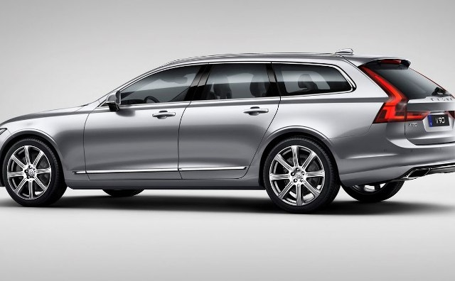 Nové Volvo V90 bi-fuel   CNG+