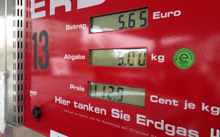 Jak si stojíme s cenou CNG oproti zahraničí?