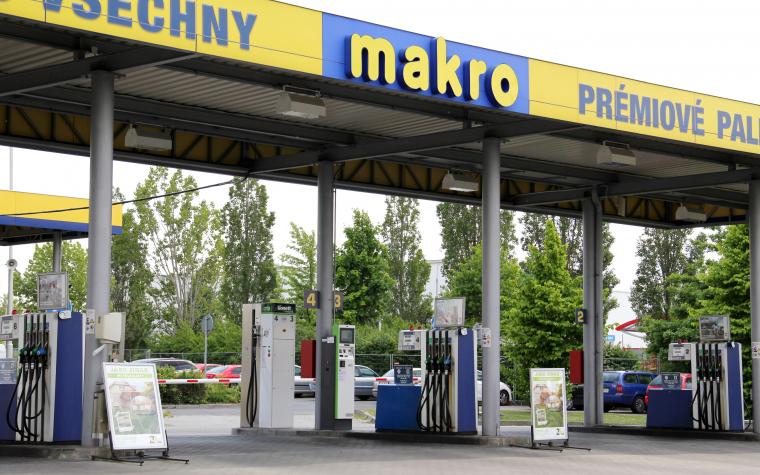 10 CNG stanic ve spolupráci se sítí Makro