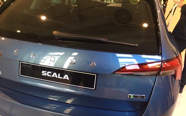 Světová premiéra vozu Škoda Scala G-Tec