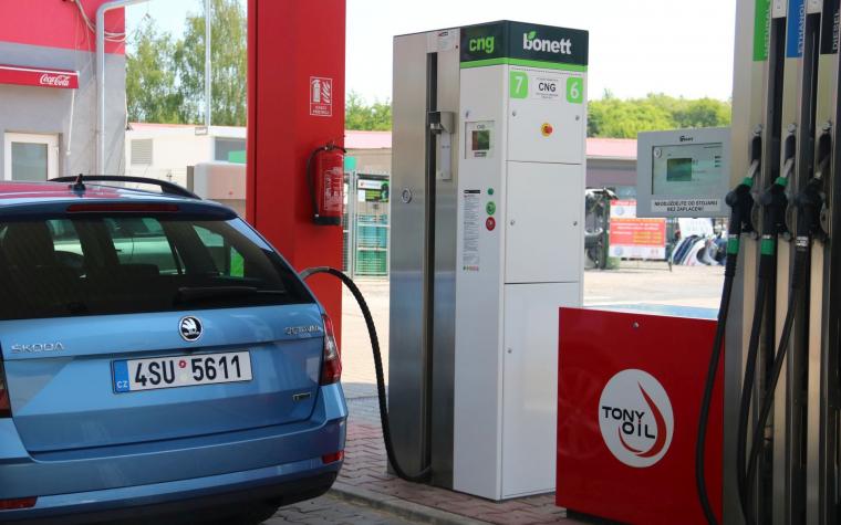 Bonett zvýšil prodej CNG a je největší ryze českou sítí
