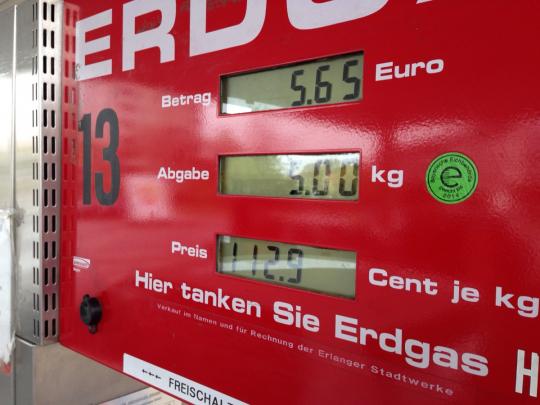Ceny CNG v zahraničí