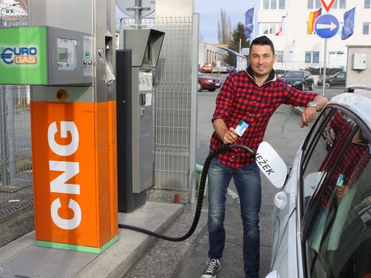 Jiří Ježek jezdí na CNG