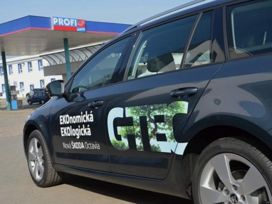 Ojeté CNG vozy