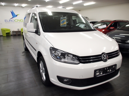 VW Caddy 2.0 Ecofuel maxi LIFE MAN 2015