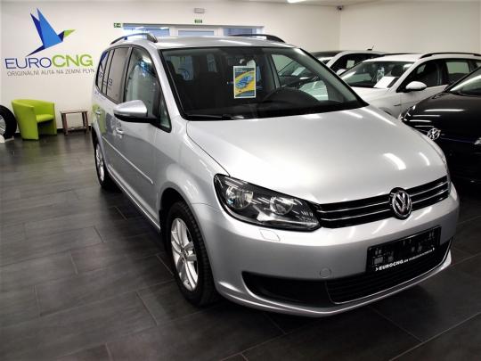 VW Touran 1.4 TSI Ecofuel Masters MAN 2012 – 5míst, zadní PDC, klima, vyhř. sedačky