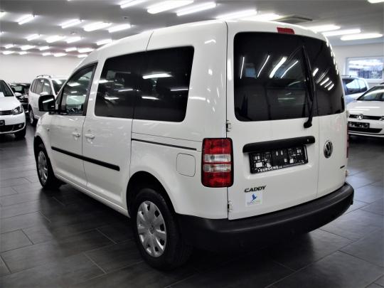 VW Caddy 2.0 Ecofuel LIFE 5míst MAN 2013 – zadní PDC, křídla, vyhř. sedačky, 2 sady kol