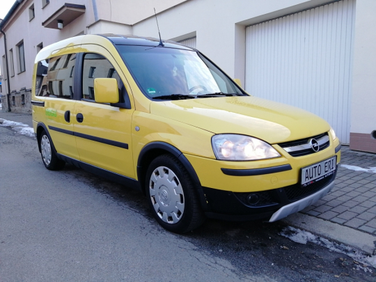 Opel Combo 1.6 ecoFlex CNG