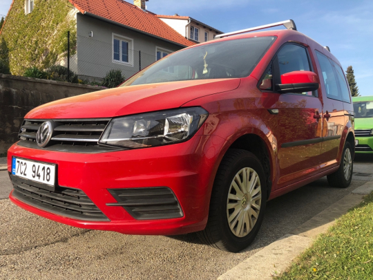 VW Caddy 1.4 TGI