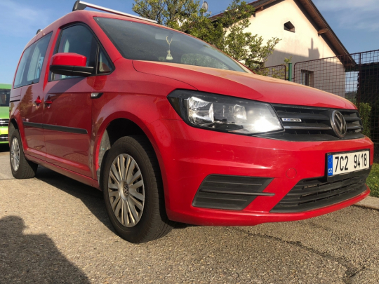 VW Caddy 1.4 TGI