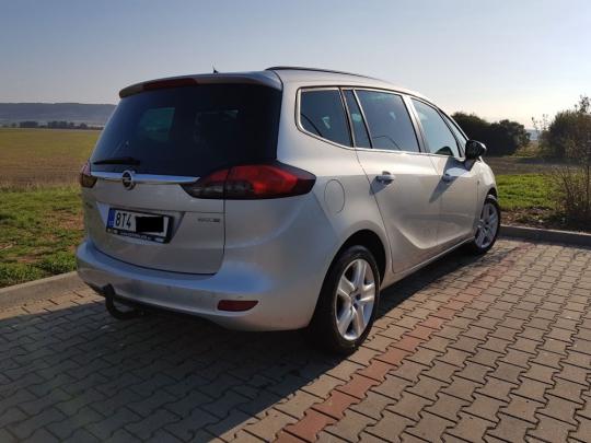 Opel Zafira Tourer 1.6 Turbo CNG, CZ 12/2012