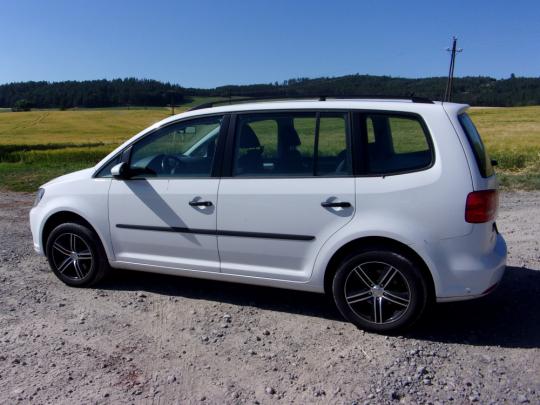 Prodám Volkswagen Touran 1,4 TSI CNG EcoFuel Trend