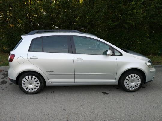 Volkswagen Golf plus rv 2008 najeto 204 tis km 1.6 benzín +CNG