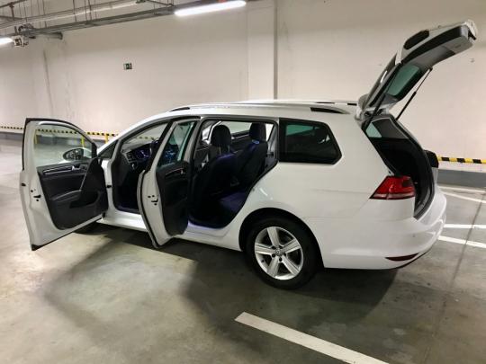 VW GOLF VII 1,4 TGI CNG, DSG Highline
