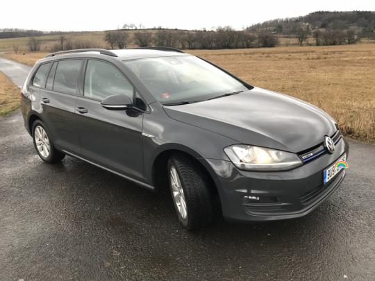 VW GOLF VII Variant TGI DSG