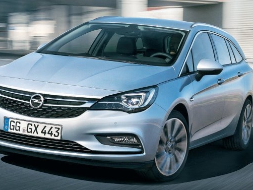 Opel Astra 1,4 CNG od r. 2018