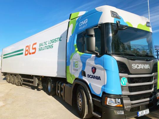 Scania G a R 410