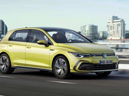 Volkswagen Golf VIII od r. 2020