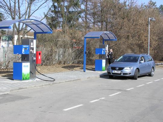 Brno - Slatina – stanice Benzina