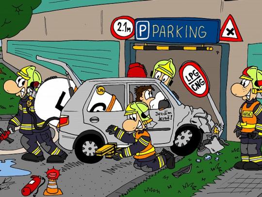 CNG a požární bezpečnost - vozy na plynná paliva jsou dle statistik požárů zcela bezpečné