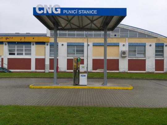 Opětovné otevření CNG stanice v Plzni se sníženou cenou