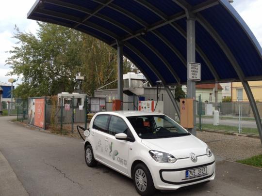 Omezení provozu na CNG stanici v Českých Budějovicích dne 11.3.