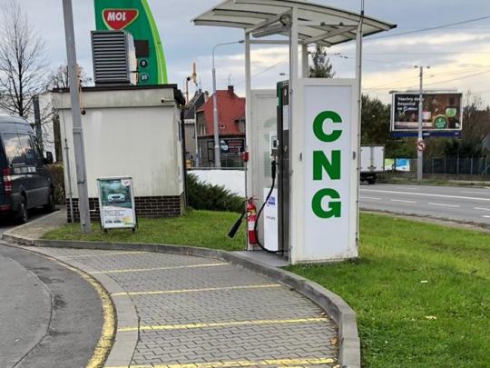 Navýšení výkonu CNG stanice v Ostravě, Bohumínská ul.