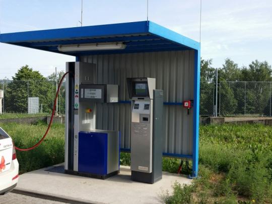 Dočasná odstávka CNG stanice v Příbrami