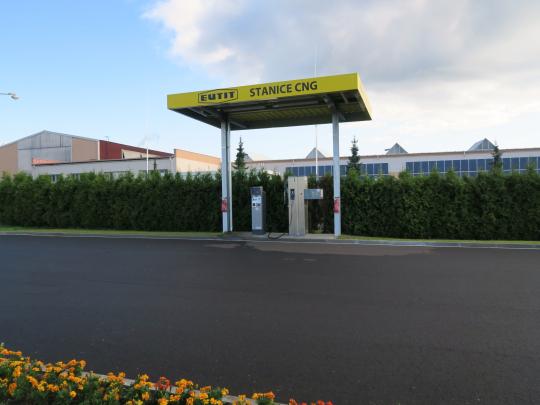 CNG stanice ve Staré Vodě je do odvolání uzavřena