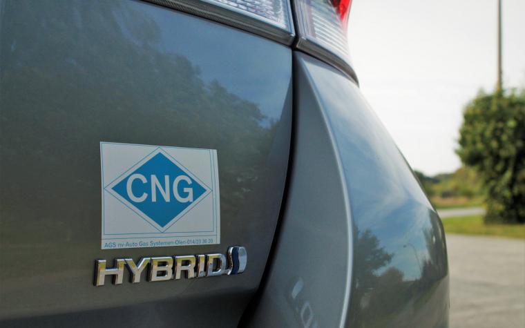 Hybridizace CNG vozidel - pilotní projekty