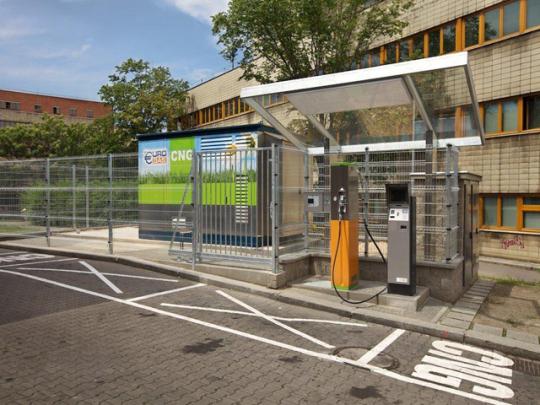 V České republice je již bezmála 40 plnících stanic na CNG