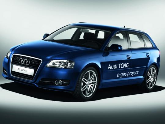 Audi uvádí na trh svůj první CNG model - na vlastní plyn