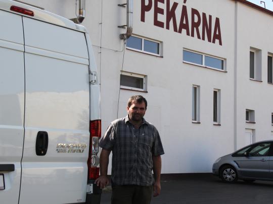 Zdeněk Velíšek je s provozem na CNG velmi spokojen