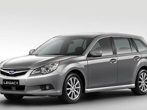 Subaru úspěšně vyrábí CNG verze typů Legacy a Outback