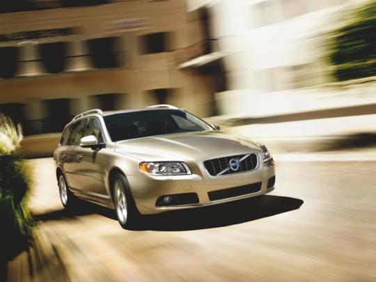 Volvo nabízí přestavby modelu V70 na CNG