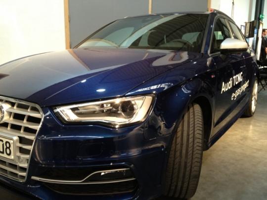 První snímky předsériové verze Audi A3 TCNG