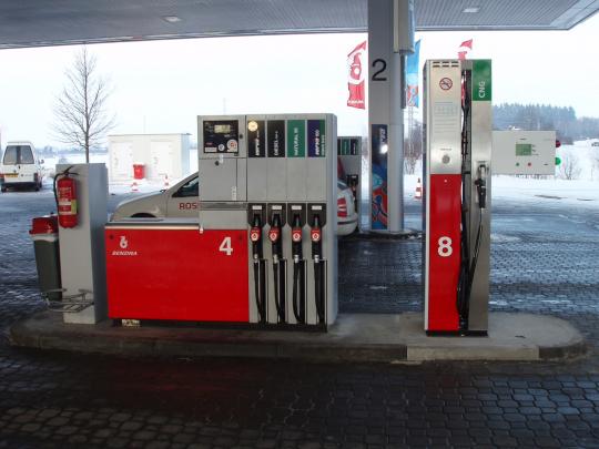CNG stanice na D1 v Humpolci v provozu!