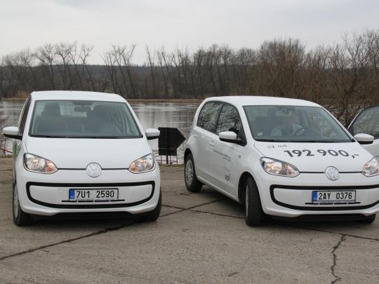 Volkswagen eco up! - redakční test