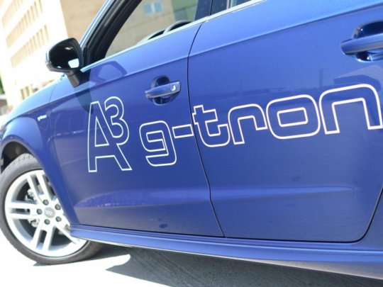 První test Audi A3 Sportback g-tron