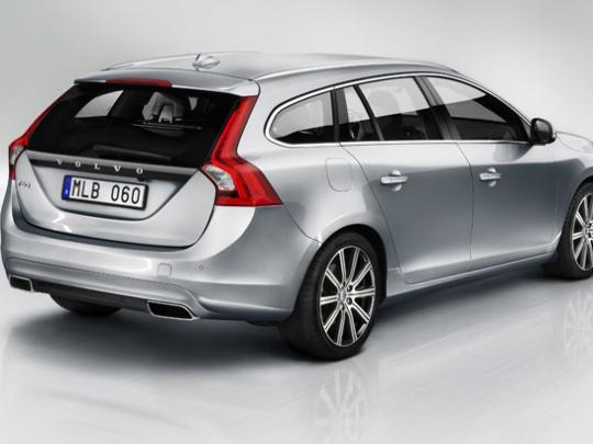 Volvo představuje model V60 na zemní plyn