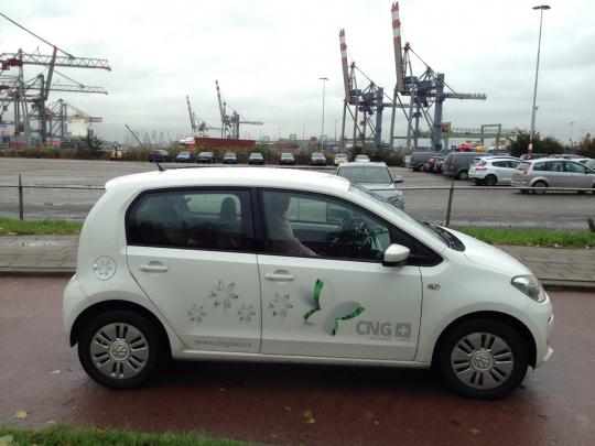 Do Rotterdamu na CNG za pár grošů