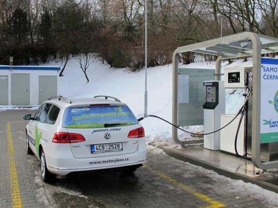 V Jindřichově Hradci se v lednu otevírá 50. CNG stanice