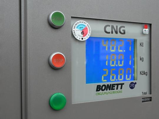 CNG roste navzdory nízkým cenám tradičních paliv
