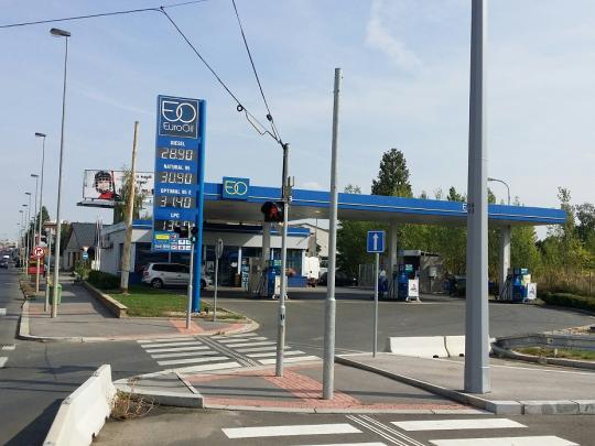 Nová Bonett CNG stanice v Praze Vysočanech