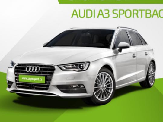 Pronájem CNG vozu Audi A3 Sportback